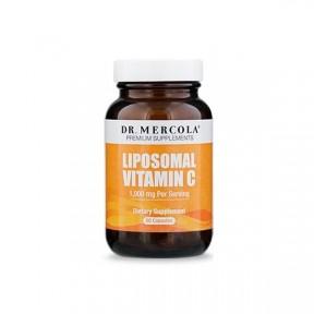 WITAMINA C Liposomalna (dr Mercola) (60 kapsułek (Licaps®) - suplement diety